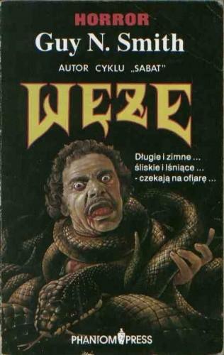 Okładka książki Węże