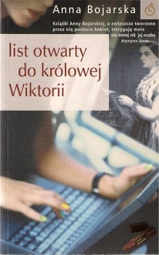 Okładka książki List otwarty do królowej Wiktorii