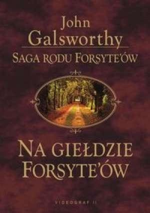 Okładka książki Na giełdzie Forsyte'ów
