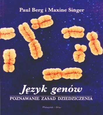 Okładka książki Język genów