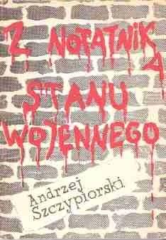Okładka książki Z notatnika stanu wojennego