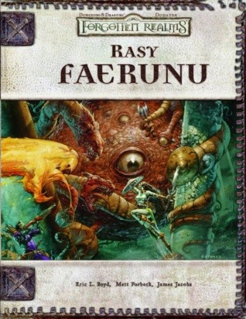 Okładka książki Rasy Faerunu