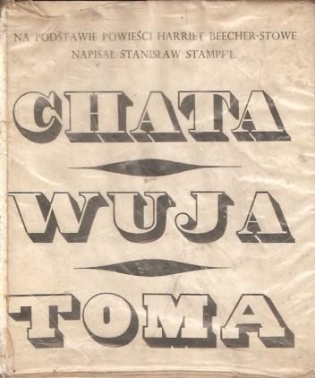 Okładka książki Chata wuja Toma