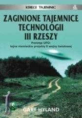 Okładka książki Zaginione tajemnice technologii III Rzeszy