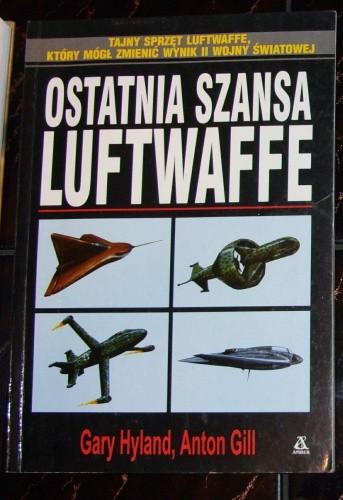 Okładka książki Ostatnia szansa Luftwaffe