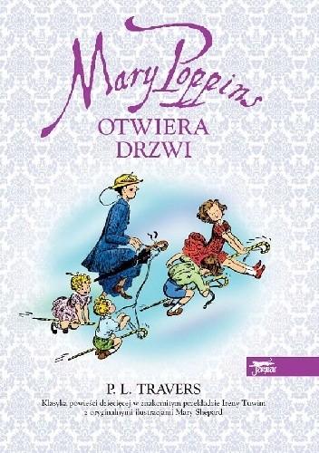 Okładka książki Mary Poppins otwiera drzwi