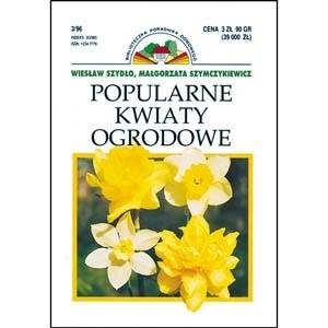 Okładka książki Popularne kwiaty ogrodowe