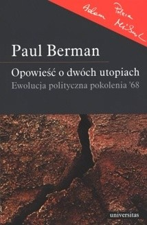 Okładka książki Opowieść o dwóch utopiach