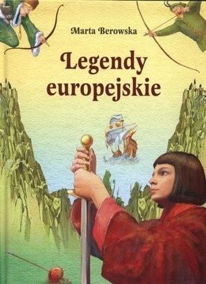 Okładka książki Legendy europejskie