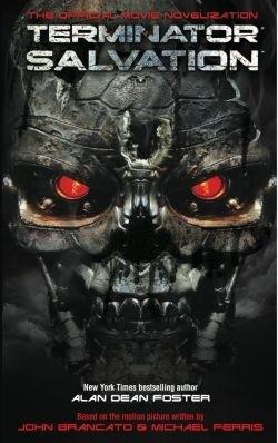 Okładka książki Terminator Salvation: The Official Movie Novelisation