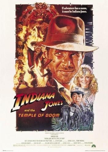 Okładka książki Indiana Jones i świątynia przeznaczenia