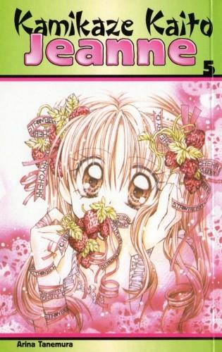 Okładka książki Kamikaze Kaito Jeanne 5