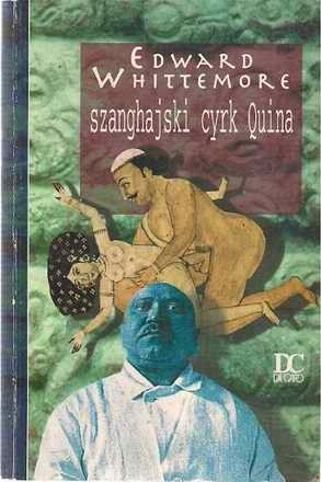 Okładka książki Szanghajski cyrk Quina