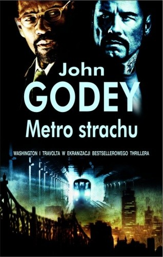 Okładka książki Metro strachu
