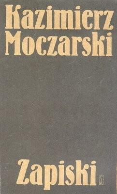 Okładka książki Kazimierz Moczarski:  Zapiski