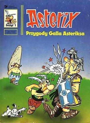 Okładka książki Przygody Galla Asteriksa