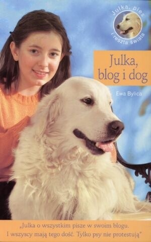 Okładka książki Julka, blog i dog