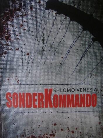 Okładka książki Sonderkommando. W piekle komór gazowych