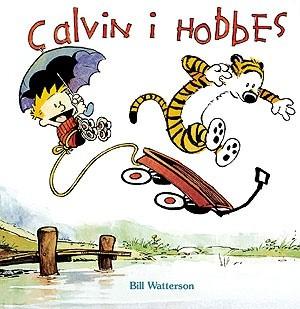 Okładka książki Calvin i Hobbes