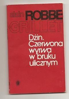 Okładka książki Dżin. Czerwona wyrwa w bruku ulicznym