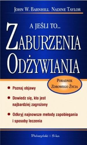 Okładka książki A jeśli to... zaburzenia odżywiania