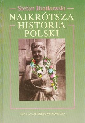 Okładka książki Najkrótsza historia Polski