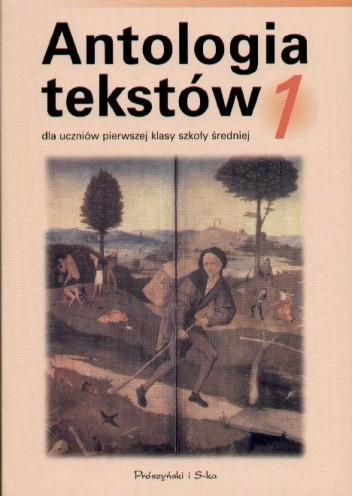 Okładka książki Antologia tekstów 1