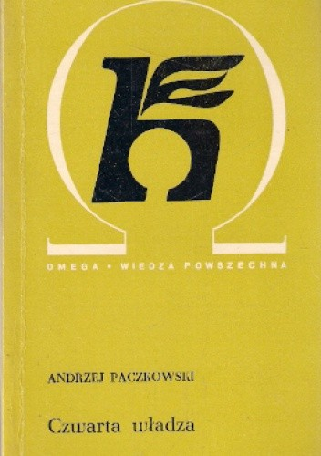 Okładka książki Czwarta władza. Prasa dawniej i dziś