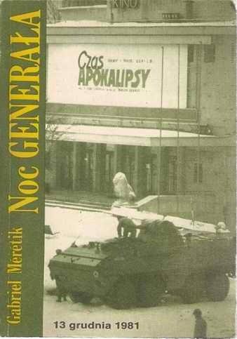 Okładka książki Noc Generała