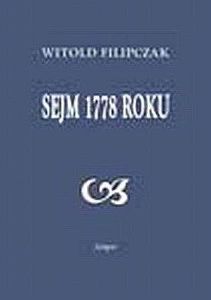 Okładka książki Sejm 1778 roku