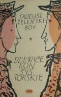 Okładka książki Dziewice Konsystorskie