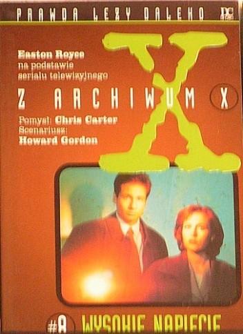Okładka książki Z Archiwum X #8: Wysokie napięcie