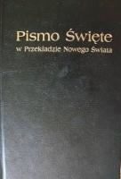 Okładka książki Pismo Święte w przekładzie Nowego Świata