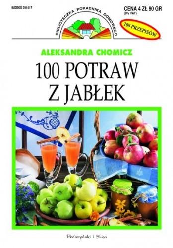 Okładka książki 100 potraw z jabłek