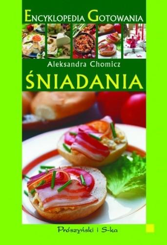 Okładka książki Encyklopedia Gotowania. Śniadania