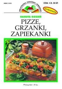 Okładka książki Pizze, grzanki, zapiekanki