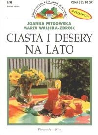 Okładka książki Ciasta i desery na lato