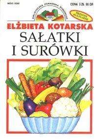 Okładka książki Sałatki i surówki