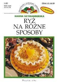Okładka książki Ryż na różne sposoby