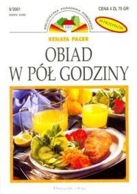 Okładka książki Obiad w pół godziny
