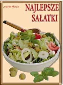 Okładka książki Najlepsze sałatki