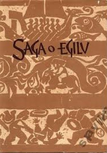 Okładka książki Saga o Egilu