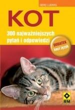 Okładka książki Kot. 300 najważniejszych pytań i odpowiedzi