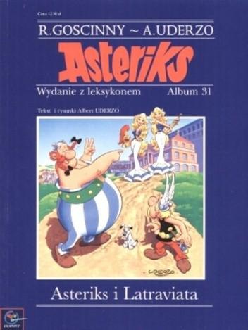 Okładka książki Asteriks i Latraviata