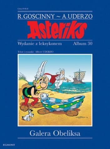 Okładka książki Galera Obeliksa