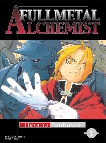 Okładka książki Fullmetal Alchemist t. 1