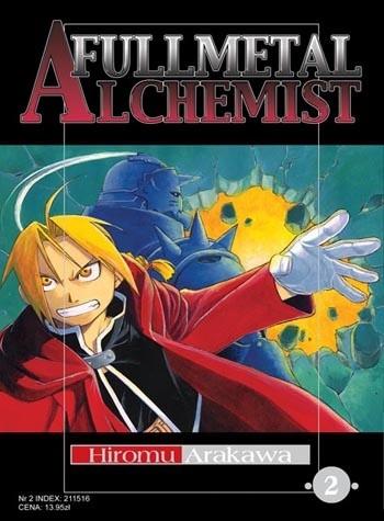 Okładka książki Fullmetal Alchemist t. 2
