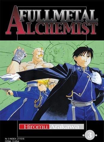 Okładka książki Fullmetal Alchemist t. 3