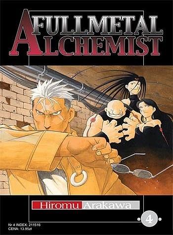 Okładka książki Fullmetal Alchemist t. 4