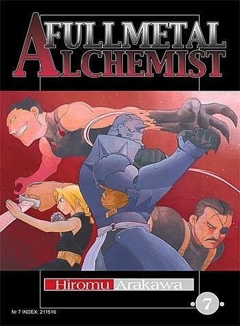 Okładka książki Fullmetal Alchemist t. 7